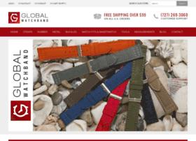 Globalwatchband.com thumbnail