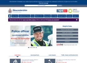 Gloucestershire.police.uk thumbnail