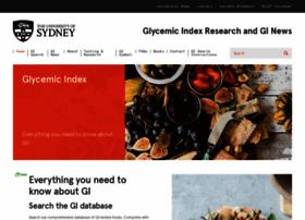 Glycemicindex.com thumbnail