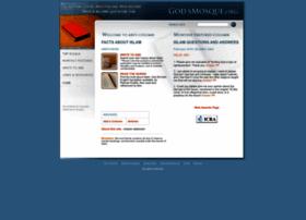 Godsmosque.org thumbnail