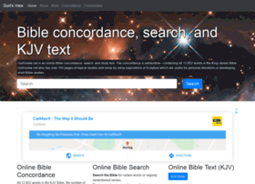 godsview net at WI  Online Bible concordance, KJV Bible search, text