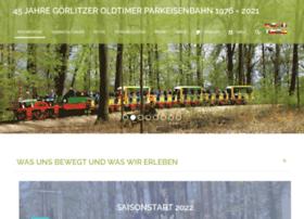 Goerlitzerparkeisenbahn.de thumbnail
