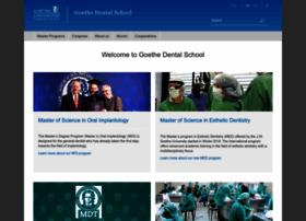 Goethe-dental-school.de thumbnail