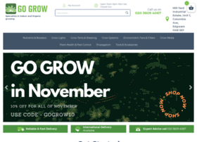 Gogrowhydroponics.co.uk thumbnail