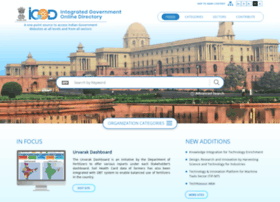 government of india directory: