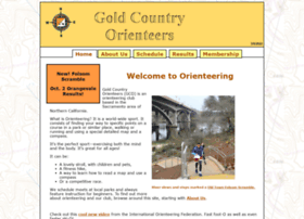 Goldcountryorienteers.org thumbnail