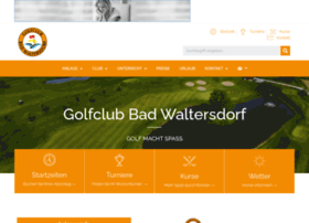 Golf-badwaltersdorf.at thumbnail