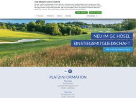 Golfclubhoesel.de thumbnail
