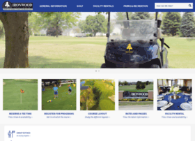 Golfironwood.org thumbnail