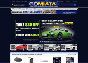 gomiata com at WI  Go Miata - Miata parts and a huge