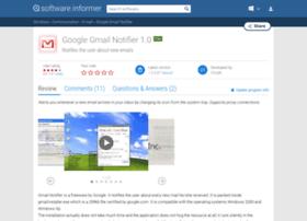Google-gmail-notifier.software.informer.com thumbnail