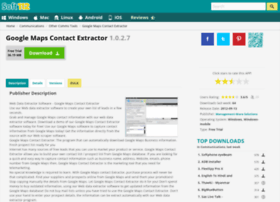 Google-maps-contact-extractor.soft112.com thumbnail
