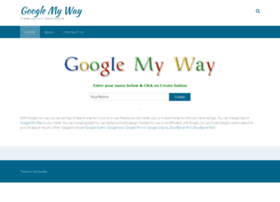 Googlemy-way.com thumbnail