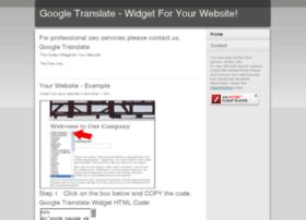 Googletranslate.webeden.co.uk thumbnail