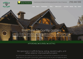 Gorillagutters.ca thumbnail