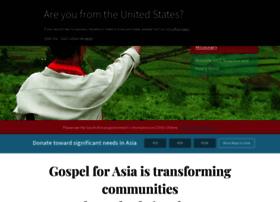 Gospelforasia.org.za thumbnail