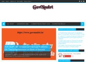 Govnaukri.in thumbnail