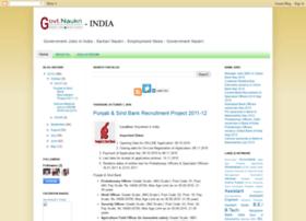 Govtnaukri-india.blogspot.com thumbnail