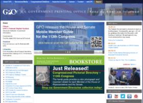 Gpoaccess.gov thumbnail