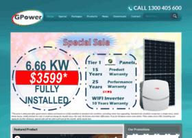 Gpowerenergy.com.au thumbnail