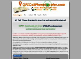 Gpscellphonelocator.com thumbnail