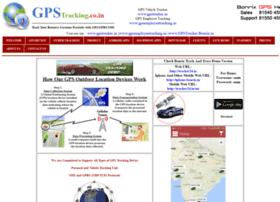 Gpstracking.co.in thumbnail