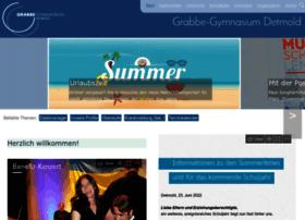 Grabbe-gymnasium.de thumbnail