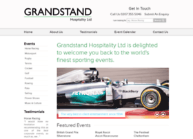 Grandstandhospitality.co.uk thumbnail