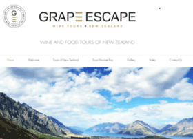 Grapeescapenz.co.nz thumbnail
