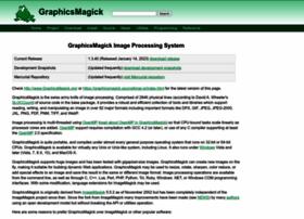 Graphicsmagick.org thumbnail
