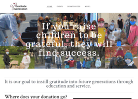 Gratitudegeneration.org thumbnail