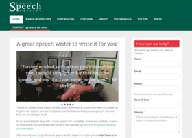 professional speech writers Materials for first-year writers  the speech component of the institute for writing and rhetoric at dartmouth college reflects speech at its best.