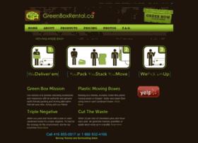 Greenboxrental.ca thumbnail