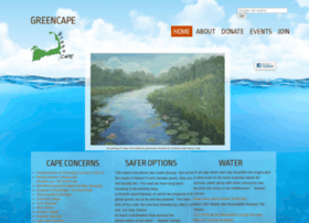 Greencape.org thumbnail