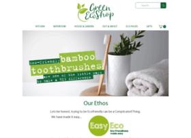 Greenecoshop.co.uk thumbnail