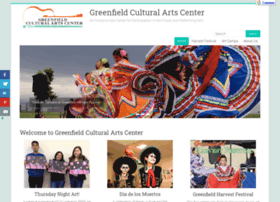 Greenfieldartscenter.org thumbnail