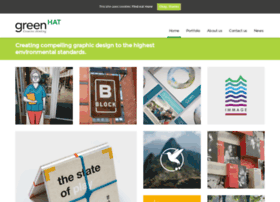 graphic design company sustainable graphic design by green hat bristol