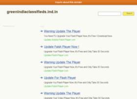 Greenindiaclassifieds.ind.in thumbnail