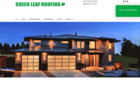 Greenleafroofing.ca thumbnail