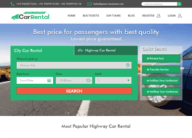Greenmyanmarcarrental.com thumbnail