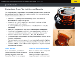 Greenteanutritionfacts.com thumbnail