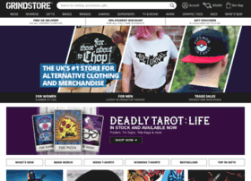 a87d0c780d7 Grindstore  Alternative Clothing and Merchandise UK Store - Bands
