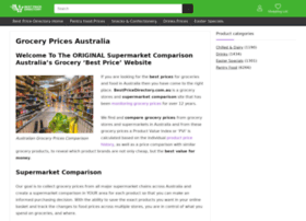 Grocery.bestpricedirectory.com.au thumbnail