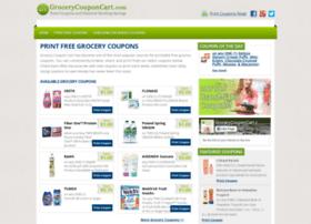 Grocery Coupon Cart At Website Informer