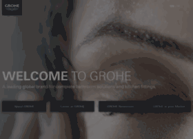 Grohe.com thumbnail