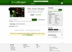 Grouprecipes.com thumbnail