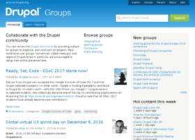 Groups.drupal.org thumbnail