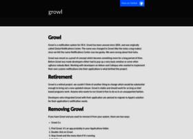Growl.info thumbnail