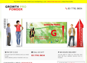 Growthonpowder.in thumbnail