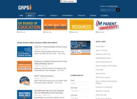 Grpublicschools.org thumbnail